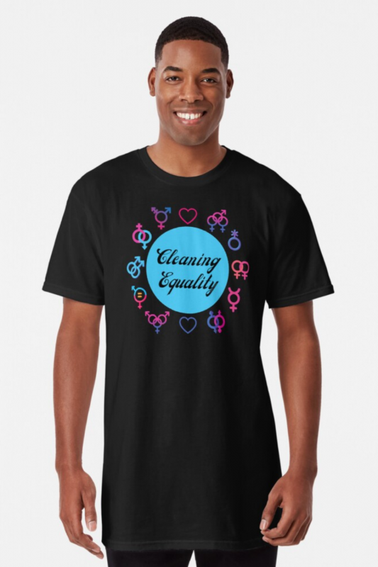 Cleaning Equality Savvy Cleaner Funny Cleaning Shirts Long Tee