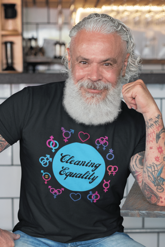 Cleaning Equality Savvy Cleaner Funny Cleaning Shirts Men's Standard T-Shirt