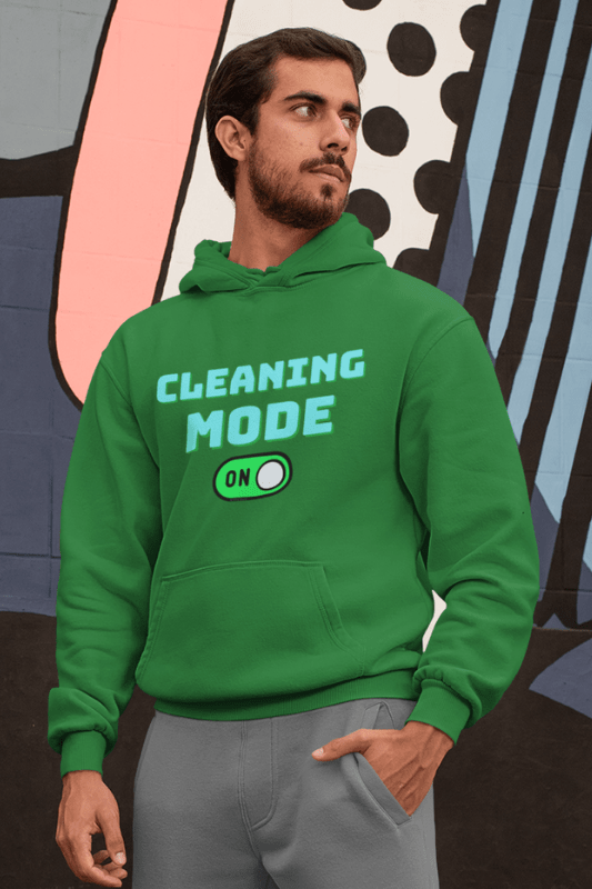 Cleaning Mode Savvy Cleaner Funny Cleaning Shirts, Classic Pullover Hoodie