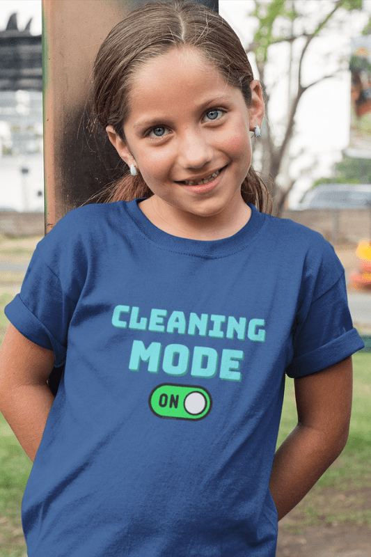 Cleaning Mode Savvy Cleaner Funny Cleaning Shirts, Kids Premium T-Shirt