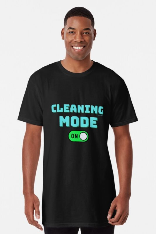 Cleaning Mode Savvy Cleaner Funny Cleaning Shirts Long T-Shirts
