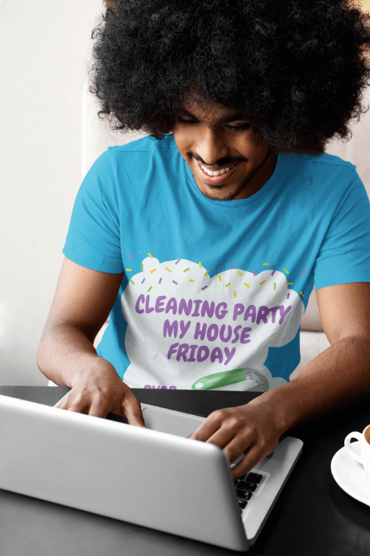 Cleaning Party, Savvy Cleaner Funny Cleaning Shirts, Premium Tee