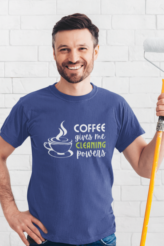 Cleaning Powers Savvy Cleaner Funny Cleaning Shirts Men's Standard Tee
