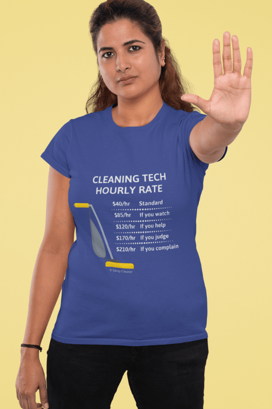 Cleaning Tech, Savvy Cleaner Funny Cleaning Shirts Standard Tee