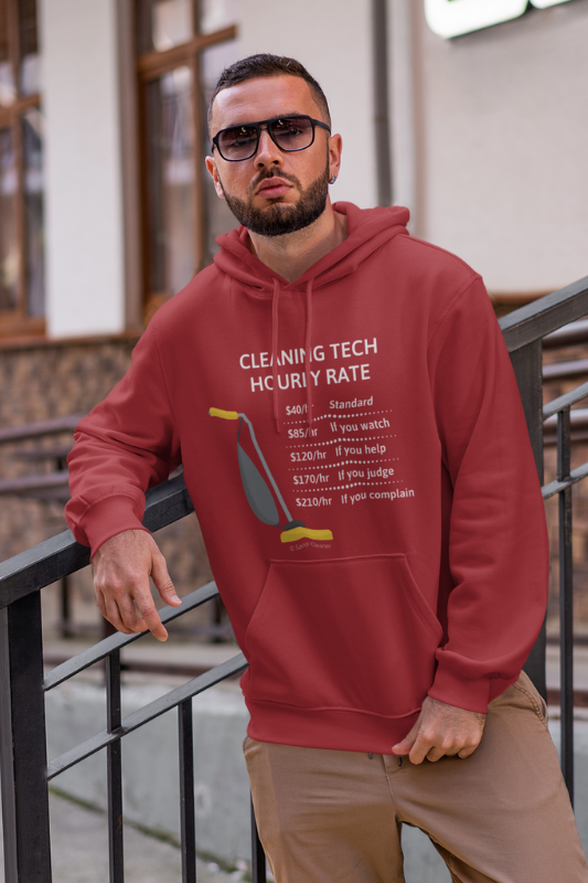 Cleaning Tech, Savvy Cleaner Funny Cleaning Shirts pullover hoodie
