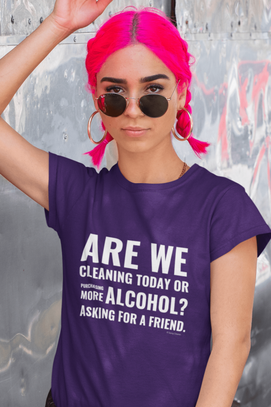 Cleaning Today Savvy Cleaner Funny Cleaning Shirts Women's Standard T-Shirt
