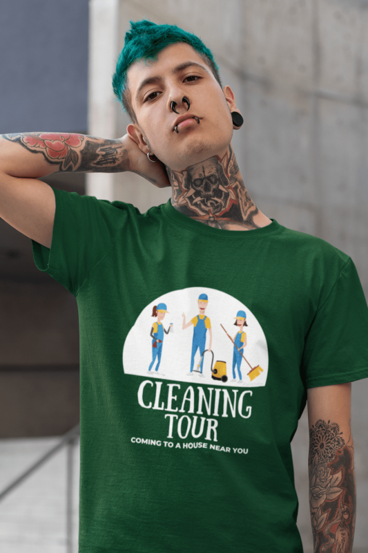 Cleaning Tour Savvy Cleaner Funny Cleaning Shirt Classic T-Shirt