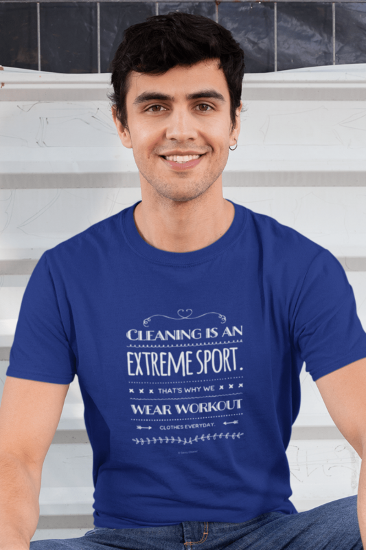 Cleaning is An Extreme Sport Savvy Cleaner Funny Cleaning Shirts Men's Standard T-Shirt