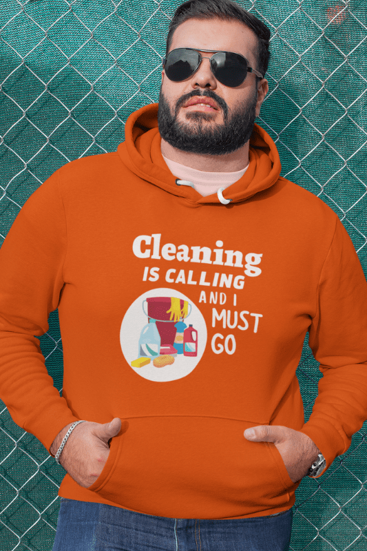 Cleaning is Calling Savvy Cleaner Funny Cleaning Shirts Classic Pullover Hoodie T-Shirt
