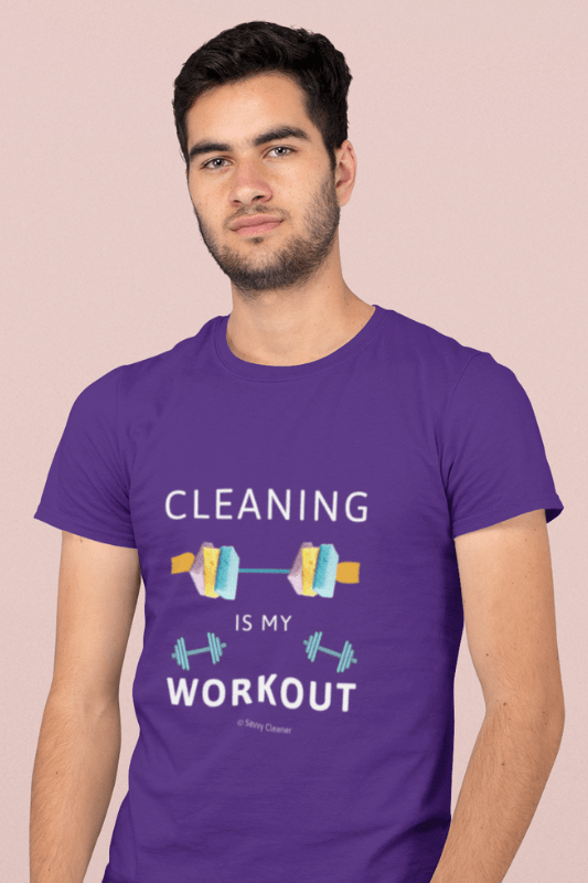 Cleaning is My Workout, Savvy Cleaner Funny Cleaning Shirts, Classic T-Shirt