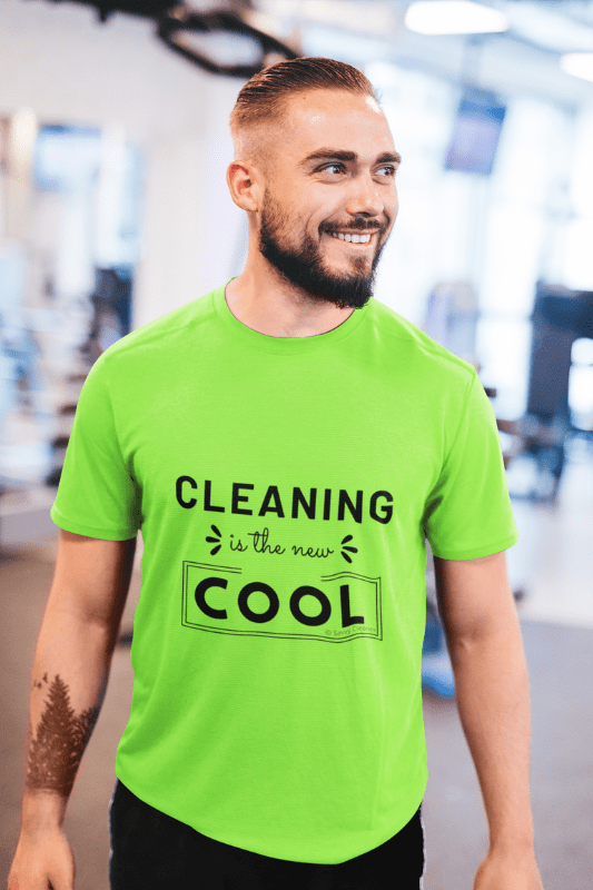 Cleaning is the New Cool, Savvy Cleaner Funny Cleaning Shirts, Classic T-Shirt