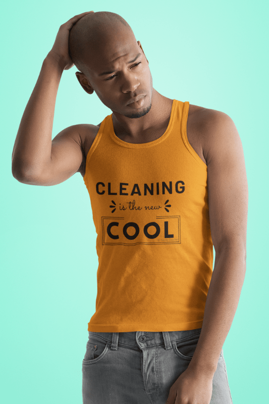 Cleaning is the New Cool, Savvy Cleaner Funny Cleaning Shirts, Classic Tank Top