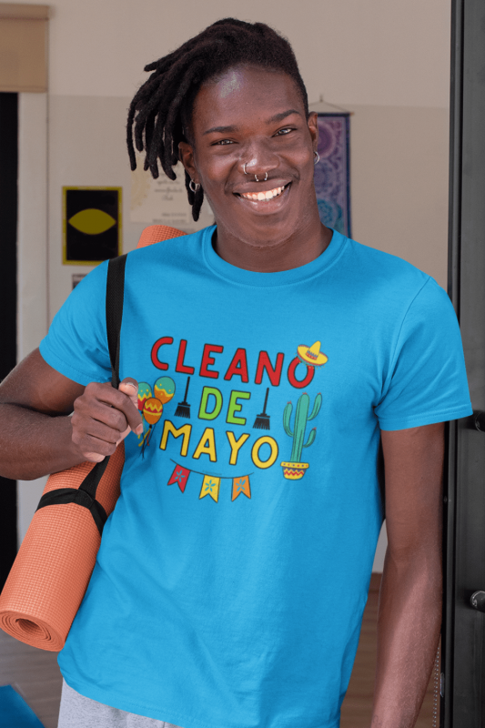 Cleano De Mayo Savvy Cleaner Funny Cleaning Shirts Premium Tee