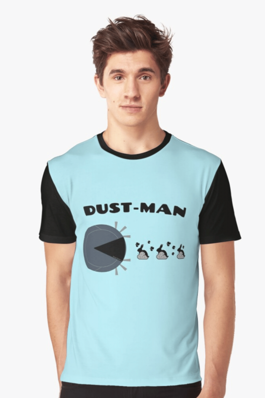 Dust Man Savvy Cleaner Funny Cleaning Shirts Graphic Tee