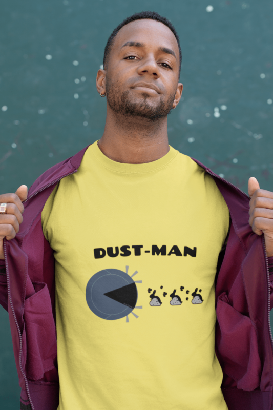 Dust Man Savvy Cleaner Funny Cleaning Shirts Men's Standard Tee