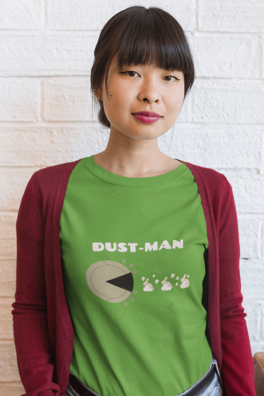 Dust Man Savvy Cleaner Funny Cleaning Shirts Women's Standard Tee