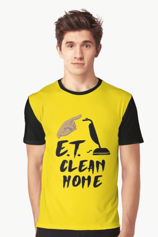 ET Clean Home Savvy Cleaner Funny Cleaning Shirts Graphic Tee