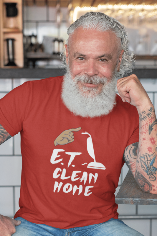 ET Clean Home Savvy Cleaner Funny Cleaning Shirts Men's Standard T-Shirt