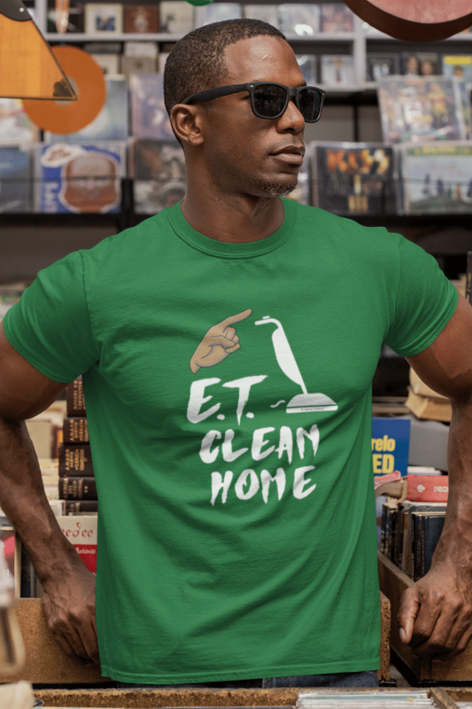 ET Clean Home Savvy Cleaner Funny Cleaning Shirts Standard Tee