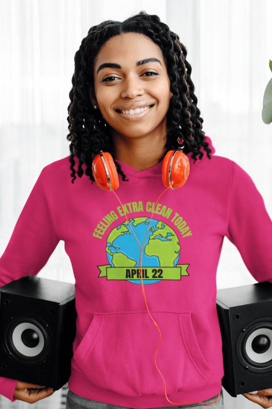 Earth Day Cleaning Savvy Cleaner Funny Cleaning Shirts Classic Pullover Hoodie