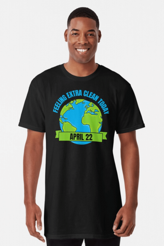 Earth Day Cleaning Savvy Cleaner Funny Cleaning Shirts Long T-Shirt