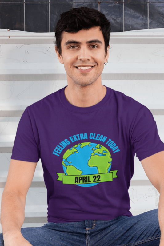 Earth Day Cleaning Savvy Cleaner Funny Cleaning Shirts Men's Standard Tee