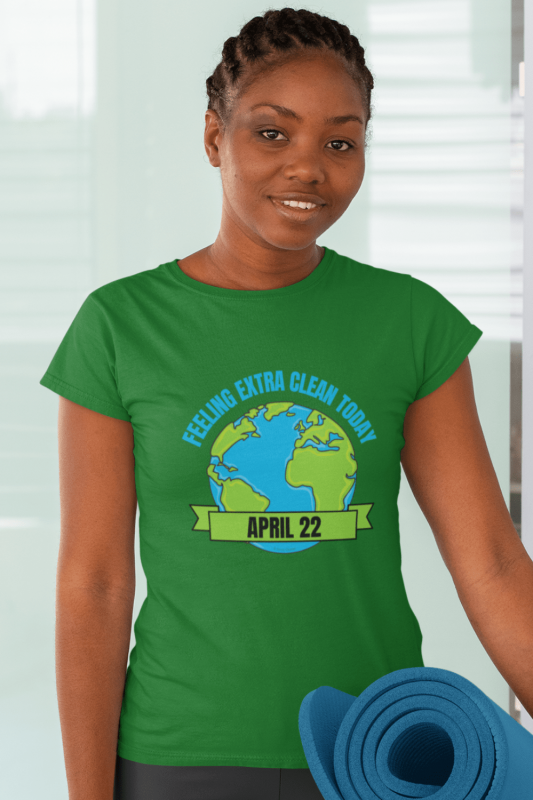 Earth Day Cleaning Savvy Cleaner Funny Cleaning Shirts Women's Standard T-Shirt