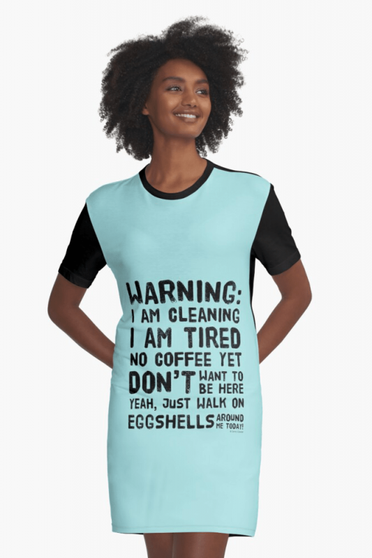 Eggshells, Savvy Cleaner Funny Cleaning Shirts, Graphic Dress