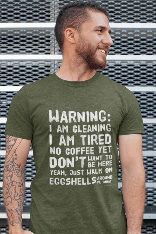 Eggshells, Savvy Cleaner Funny Cleaning Shirts, Triblend T-Shirt