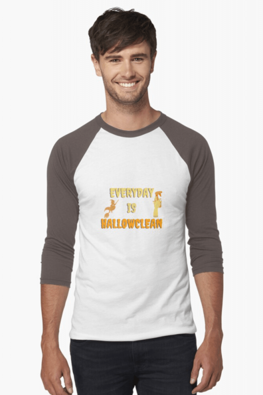 Every Day is Hallowclean, Savvy Cleaner Funny Cleaning Shirts, Baseball shirt
