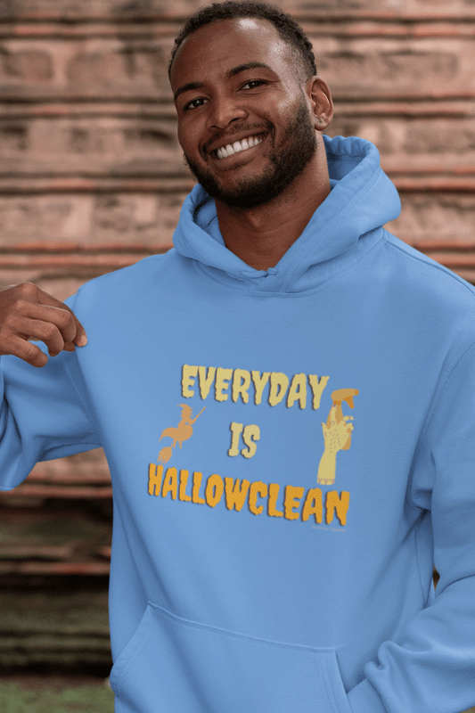 Every Day is Hallowclean, Savvy Cleaner Funny Cleaning Shirts, Classic Pullover Hoodie
