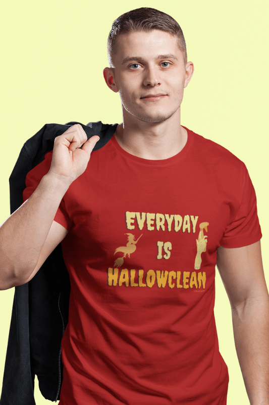Every Day is Hallowclean, Savvy Cleaner Funny Cleaning Shirts, Classic T-Shirt