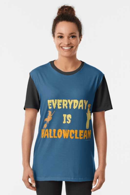 Every Day is Hallowclean, Savvy Cleaner Funny Cleaning Shirts, Graphic Shirt