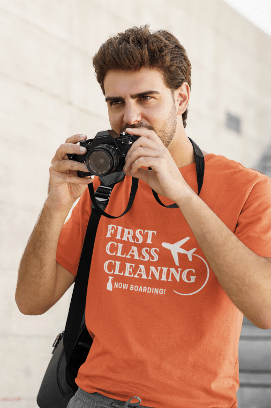 First Class Cleaning Savvy Cleaner Funny Cleaning Shirts Standard Tee