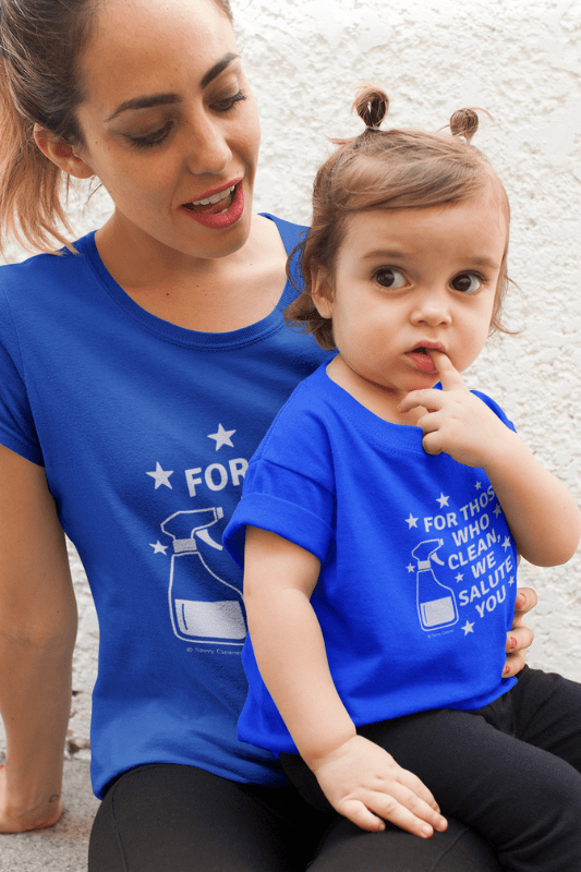 For Those Who Clean, Savvy Cleaner Funny Cleaning Shirts, Boyfriend Tee