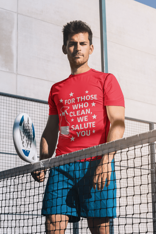 For Those Who Clean, Savvy Cleaner Funny Cleaning Shirts, Premium Tee