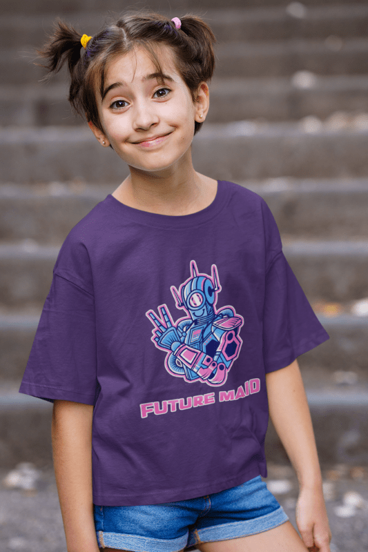 Future Maid, Savvy Cleaner Funny Cleaning Shirts, Kid's Standard Tee