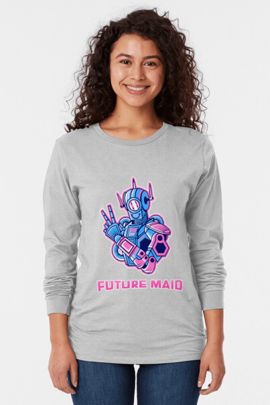 Future Maid, Savvy Cleaner Funny Cleaning Shirts, Long Sleeve shirt
