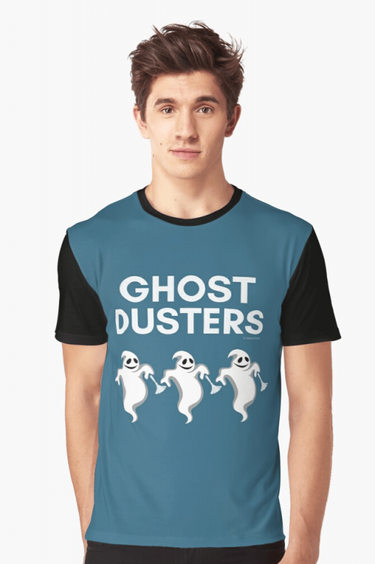 Ghost Dusters, Savvy Cleaner Funny Cleaning Shirts, Graphic Shirt