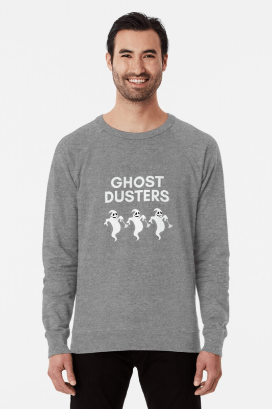 Ghost Dusters, Savvy Cleaner Funny Cleaning Shirts, Light weight sweater