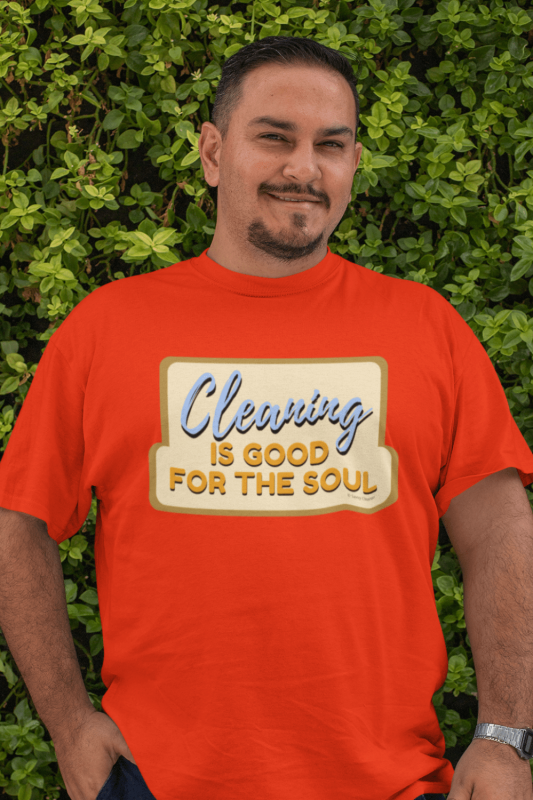 Good for the Soul Savvy Cleaner Funny Cleaning Shirt Classic T-Shirt