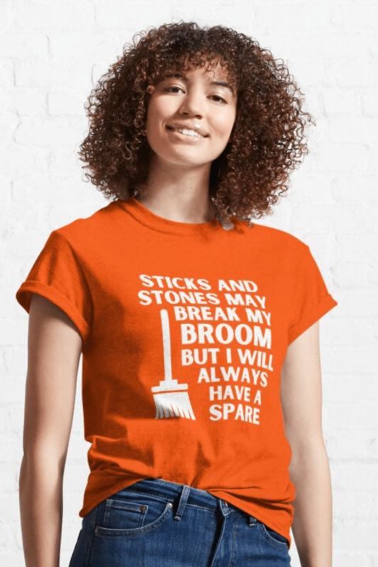 Have a Spare Savvy Cleaner Funny Cleaning Shirts Classic T-Shirt
