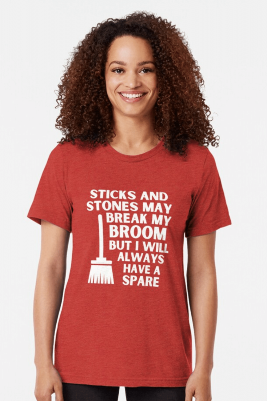 Have a Spare Savvy Cleaner Funny Cleaning Shirts Triblend Tee