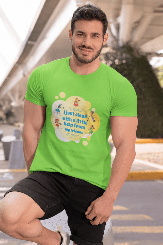 Help from My Friends Savvy Cleaner Funny Cleaning Shirts Classic T-Shirt