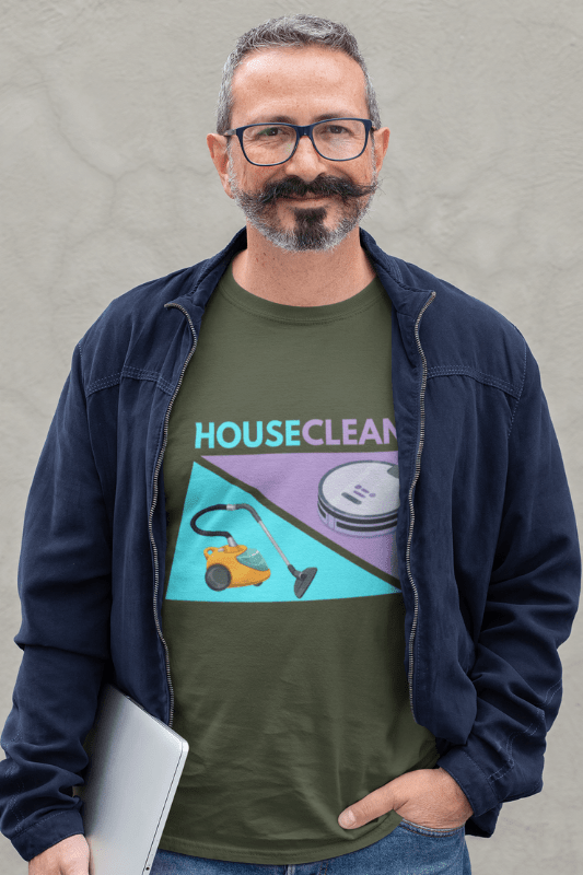 House Cleaned Vacuum Competition Savvy Cleaner Men's Standard Tee