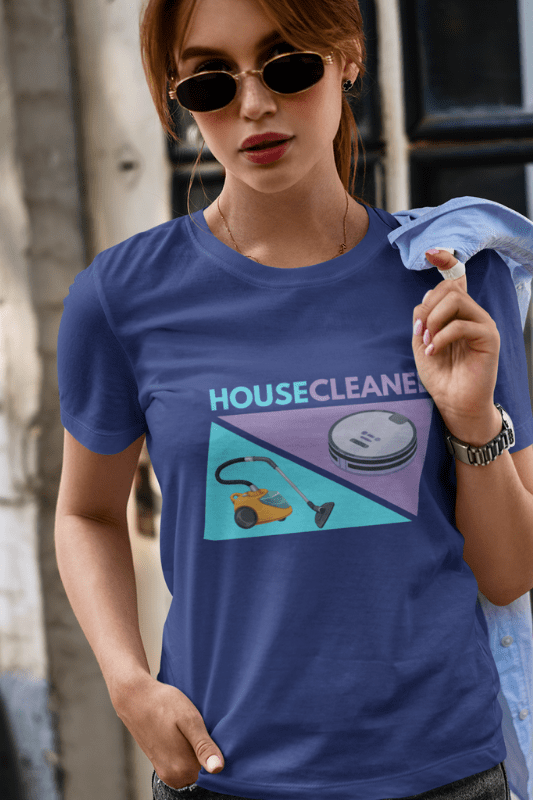 House Cleaned Vacuum Competition Savvy Cleaner Standard Tee