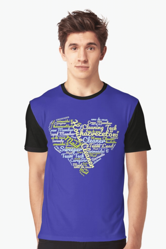 House Cleaner Wordcloud Savvy Cleaner Funny Cleaning Shirts Graphic Tee