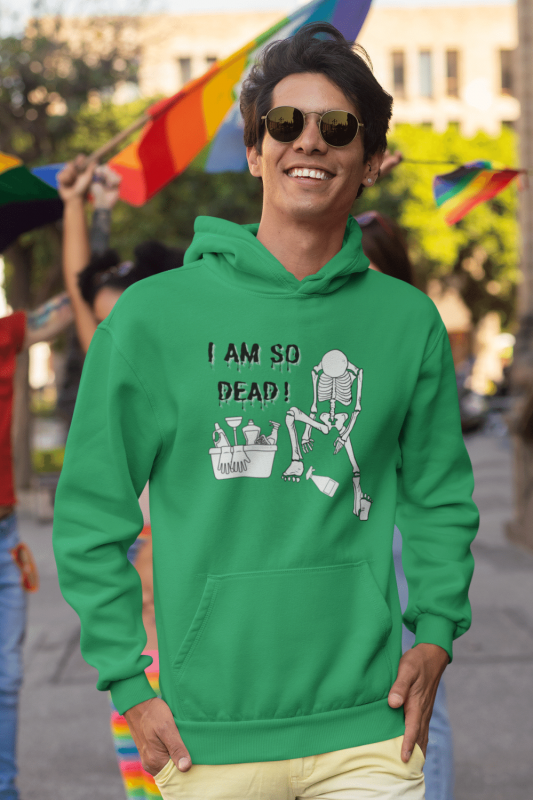 I Am So Dead Savvy Cleaner Funny Cleaning Shirts Classic Pullover Hoodie