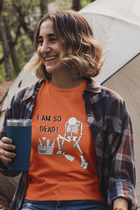 I Am So Dead Savvy Cleaner Funny Cleaning Shirts Women's Standard Tee