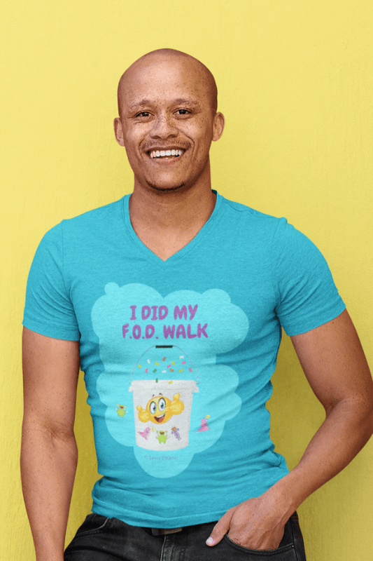 I Did My FOD Walk, Savvy Cleaner Funny Cleaning Shirts, V-Neck tee